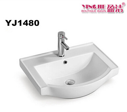 European standard bathroom fitting sink cabinet ceramic washing basin types