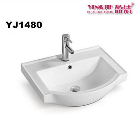 European standard bathroom fitting sink cabinet ceramic washing basin types