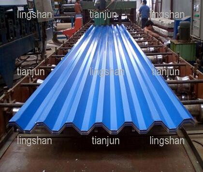 LS-ST-750 steel tile