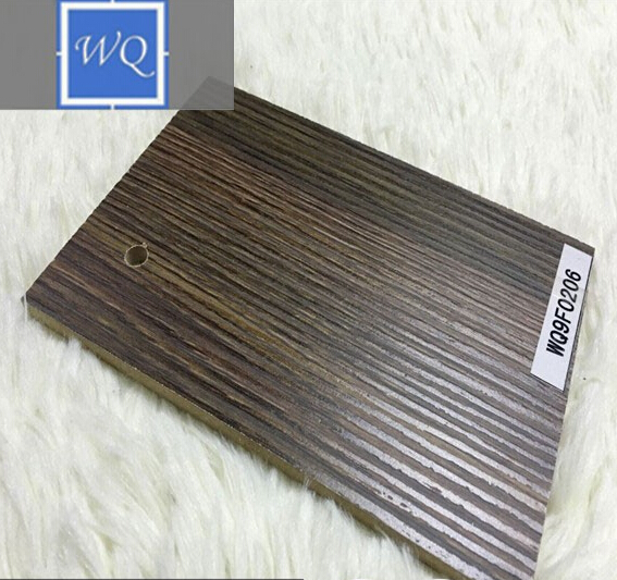 Kitchen Cabinets Melamine Embossed MDF Wood Like MDF