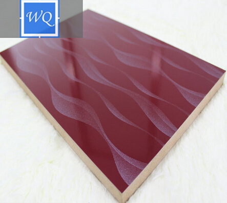 high gloss mdf board best price uv embossed mdf board manufacture