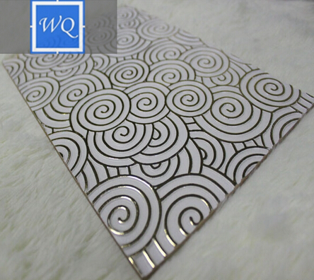 3D Dining Room Wall Decoration Embossed MDF Board Hot Selling in Turkey