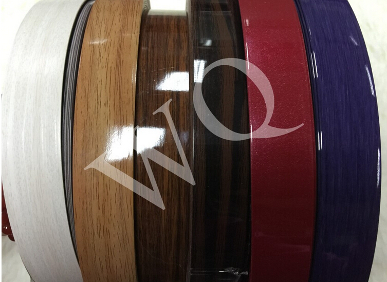 uv solid color edge banding/edge strip/edge timmer