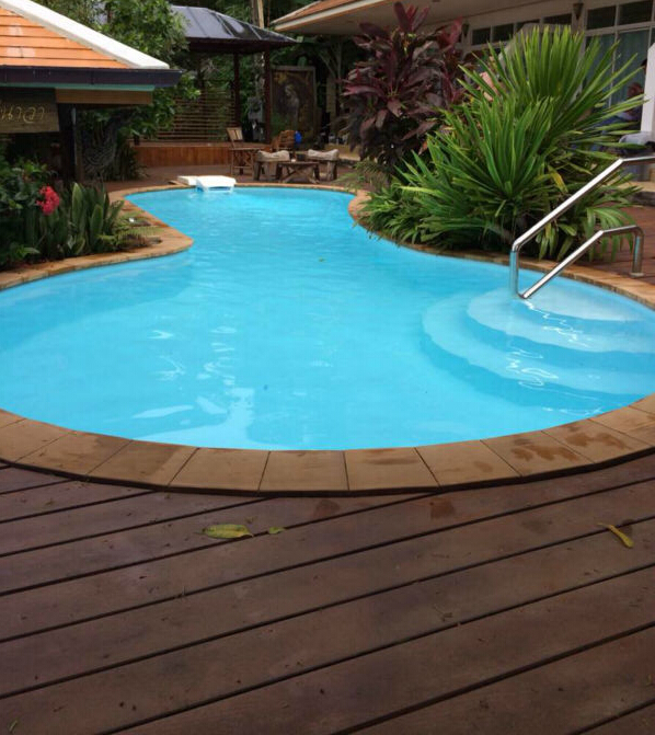 Best Selling in SEA Outdoor Teak Wood Deck