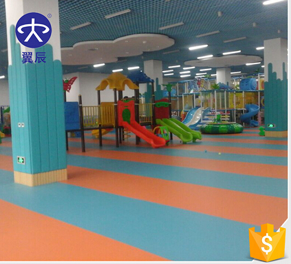 high Quality Indoor Kindergarten Flooring For Playground