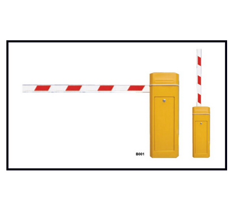 Road safety barrier with remote control
