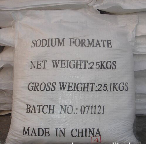 factory industrial grade sodium formate 95%,98% for leather tanning