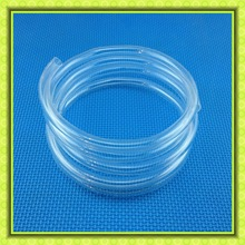 Transparent Quartz Helical Glass Tube,Quartz Coil Tube,Quartz spiral tube