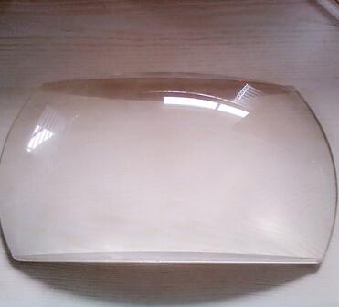 Diameter 230mm B270 rectangle plano convex optical lens with step ashperical lens