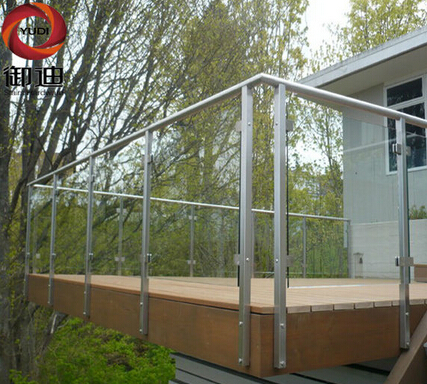cheap outdoor terrace glass stainless steel railings price