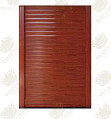Wooden Color Aluminum garage door