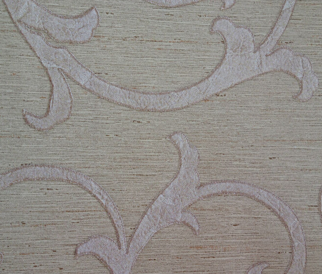 home decoration vine design Non woven backed vinyl wallpaper