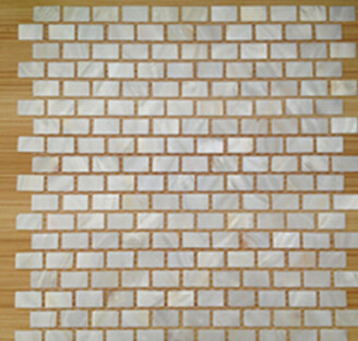 pure white 2mm mother of pearl shell mosaic pattern for wall decorative