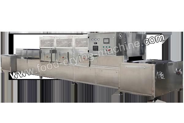 Microwave fruit drying machine