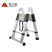 Multipurpose Telescopic Ladder with screw fixed