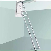Aluminum loft ladder from 2.6m to 3.8m