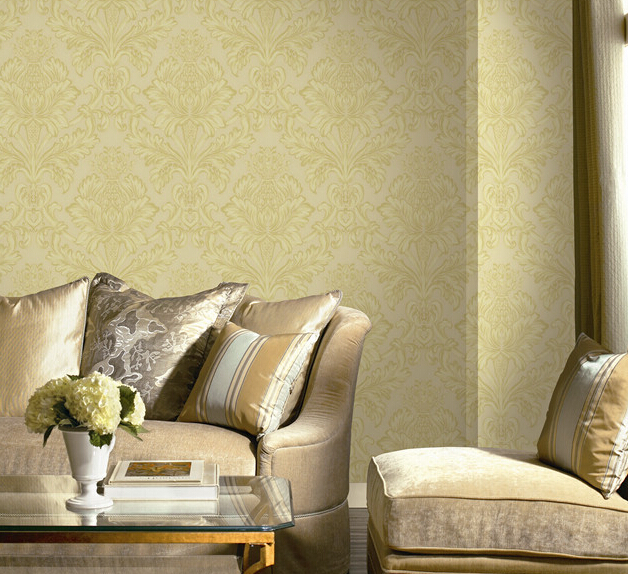 heavy pvc wallpaper textured designs wall paper