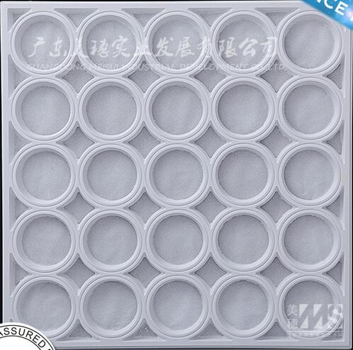 Meisui 2016 artistic waterproof 60*60 gypsum ceiling tiles price