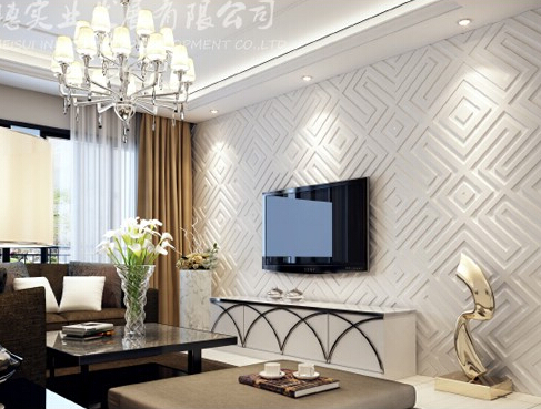 3D wall panels-modern wall style