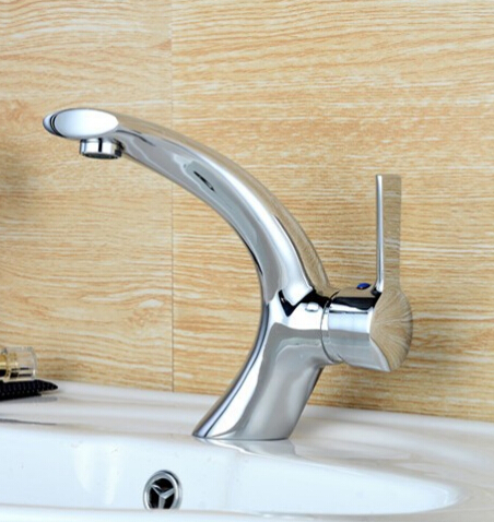 new style single handle bathroom brass sink wash basin faucet