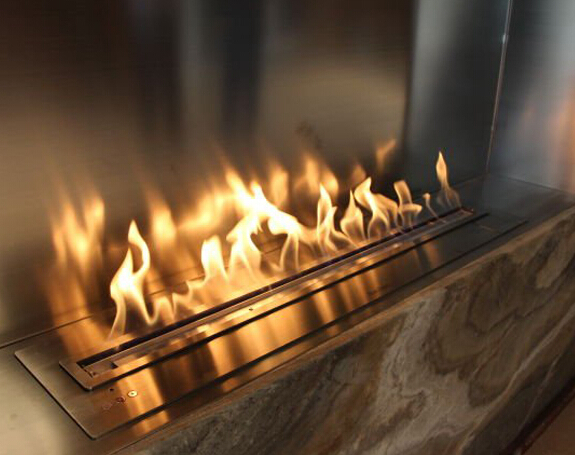 safest intelligent modern bio ethanol fireplace with high quality