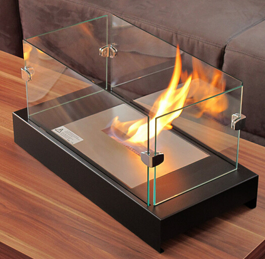 low price table top elcohol fireplace without remote control