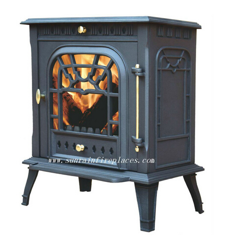 cast iron solid fuel heating stove