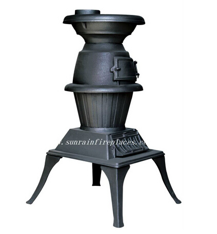 classic cast iron wood burning stove(JA020)