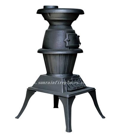 classic cast iron wood burning stove(JA020)
