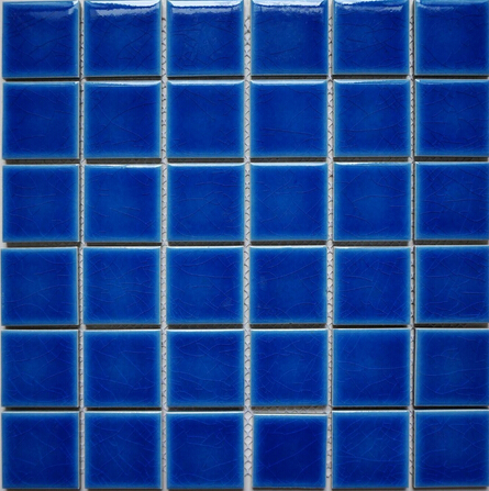 High quality swimming pool mosaic tile 48x48mm