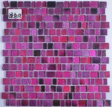 Exterior and Interior Backsplash Glass Mosaic Tiles
