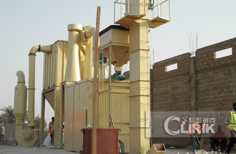 Gypsum Powder Grinding Machine Made in China
