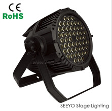 LED 3w 54pcs par light rgbw dmx led par stage light