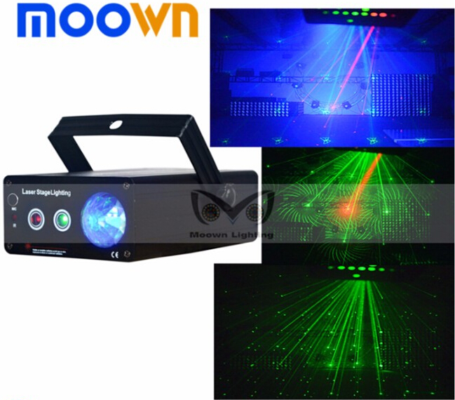 dj show equipment 150mw mini laser projector for nightclub