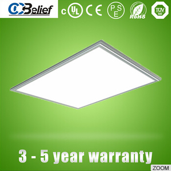 5 year warranty no flicker Laser square 600x600 40w/50W/60W led panel light