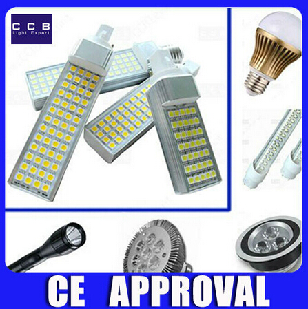 5 years warranty CCC CE RoHS 850lm 7W G24 Led light