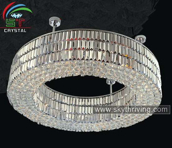 modern ring chandeliers