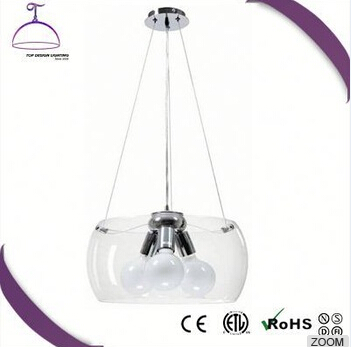 Professional Factory Supply Good Quality project round glass crystal pendant chadelier from direct manufacturer