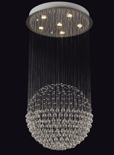 modern GU10 hanging crystal ceiling lamp