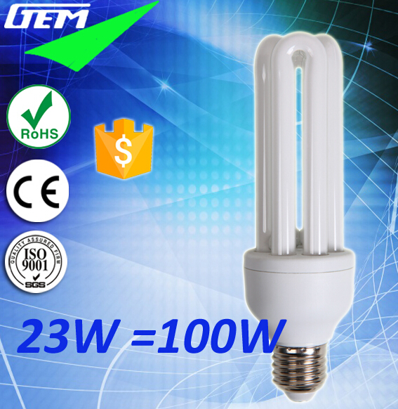 60LM/W Tri-phosphor 8000Hrs Life Energy Saving CFL Lamps For Home