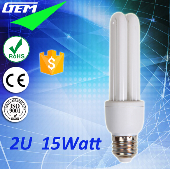 Hot Sell Promotion 5-18W Cheap 2U Energy Bulb With 250-800LM