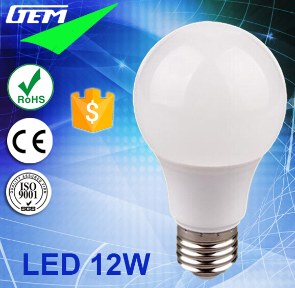 30000Hours Life 90LM/W SMD Power Saver Bulb LED E27 From China Factory