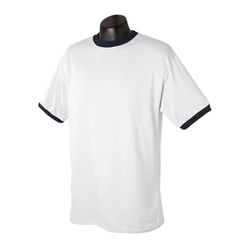 Bamboo organic cotton custom ringer t shirt