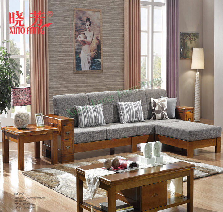 2016 Latest Xiaofang hot selling newest solid wood furniture sala sets furniture
