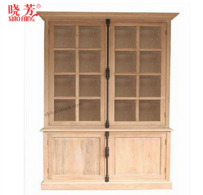Living room Glass Cabinet(RF007)
