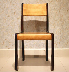 Wholesale Color Mixing Design Wooden Dining Room Chair