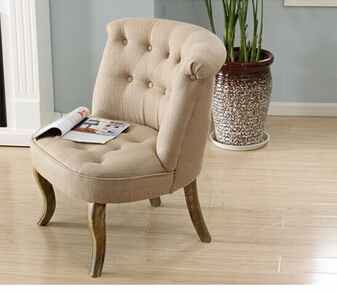 Excellent Vintage Europe Style Solid Oak Wood Frame Upholstery Living Bralicious Painted Fabric Chair Ideas Braliciousco