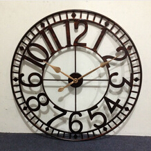 large outdoor clock metal wall clock street clock