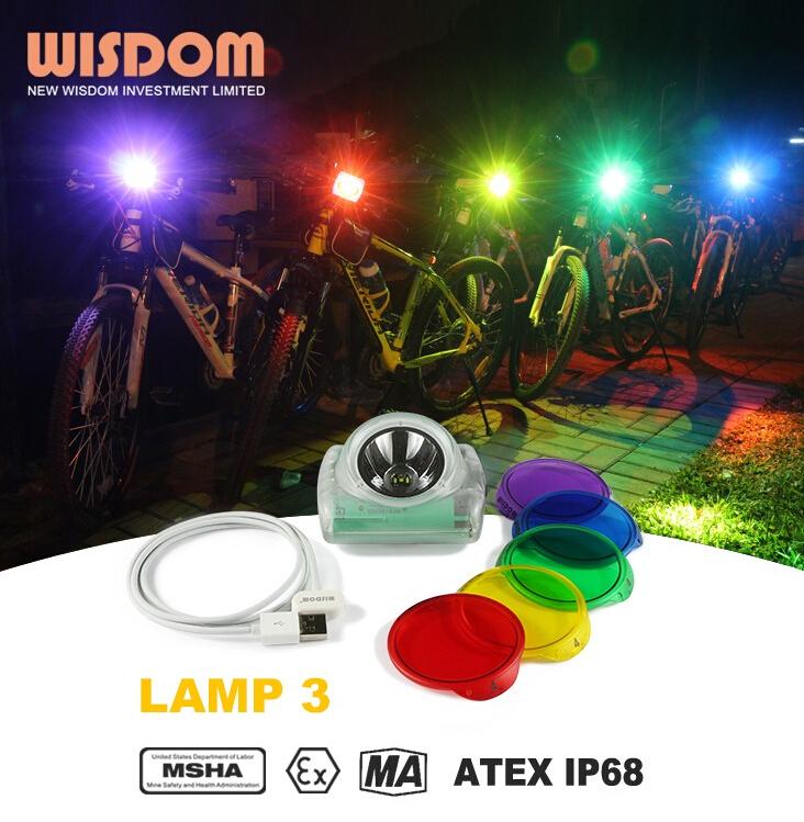 ATEX Wisdom Lamp3 Cordless mining cap lamp