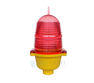 GS-LI/B FAA L810 led red single aircraft warning light / aviation obstruction light for tower